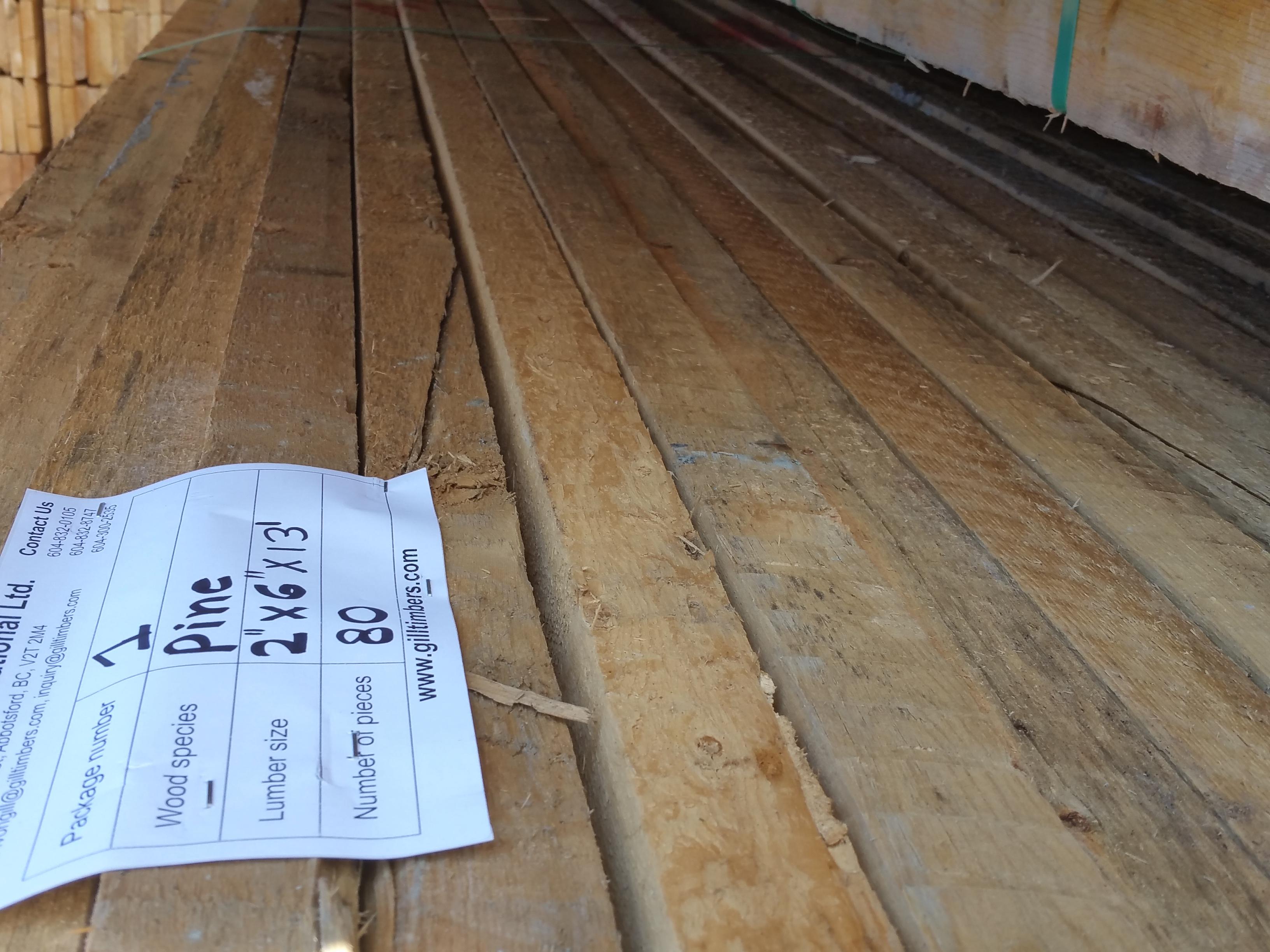 Packaging Lumber
